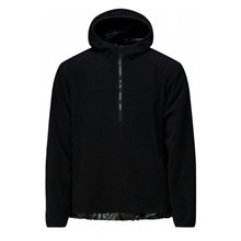 Rains Black Fleece Pullover