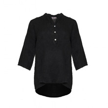 Tiffany Shirt Linen Black