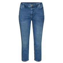 Mos Mosh Blue Etta Novel Jeans Knickers
