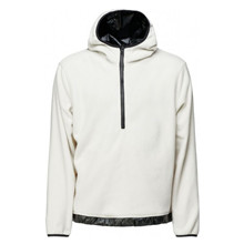 Rains Off White Fleece Pullover