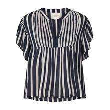 Lollys Laundry Navy Stripe Isabel Top