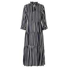 Lollys Laundry Navy Liliya Stripe Dress