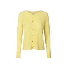 Lollys Laundry Dasy Yellow Cardigan