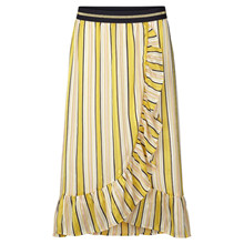 Lollys Laundry Yellow Perla Skirt