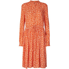 Lollys Laundry Orange Sienna Dress