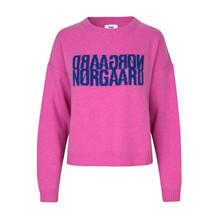 Mads Nørgaard Shocking Pink Tilvina Recy Soft Knit