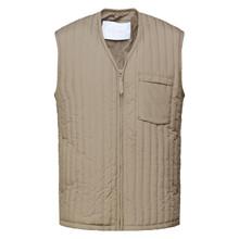 Rains Taupe Liner Vest