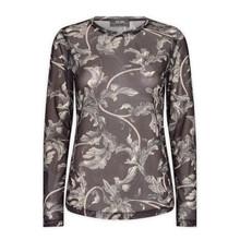 Tiffany Blue Navy Bella Blouse Cotton Poplin