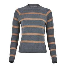 Rue de Femme Grey Stripes Knit