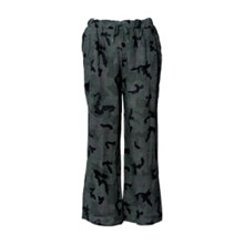 Tiffany Pants Linen Green Camouflage