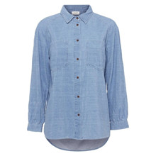 Norr Holme Shirt Light Blue