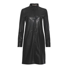 Rue De Femme Sort Liann Leather Dress