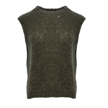 Noella Army Kala Knit Vest