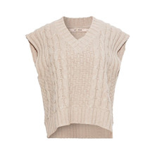 Rue De Femme Natural Spacy Knit Vest