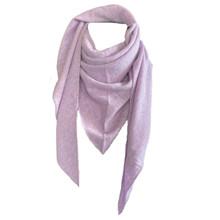 Rosas Lavender Triangle Scarf