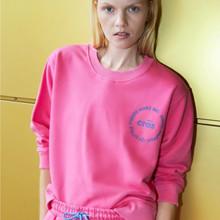 Cras Shocking Pink Carol Sweatshirt