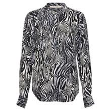Rue De Femme Zebra Dot Shirt