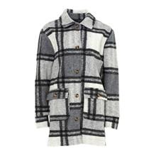 Noella Grey Checks Rai Jacket