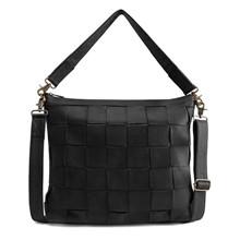 Depeche Black Medium Bag Flet