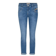 Mos Mosh Light Blue Nelly String Jeans Ankle