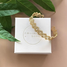 Friihof Siig Lace Armbånd Guld