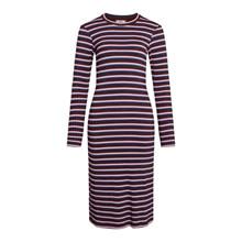 Mads Nørgaard Metallic Winetasting Duba Dress 5x5 Lurex Stripe