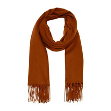 Gestuz Rust Farvet Cross Scarf