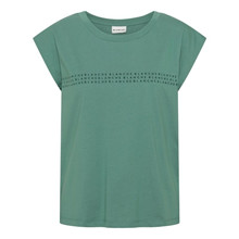 Blanche Stella Green Main Light Tank T-Shirt