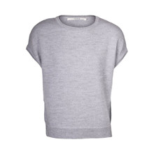 Sibin Linnebjerg Aspen Sweat Grey Vest