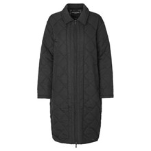 Ilse Jacobsen Black Quilt Coat