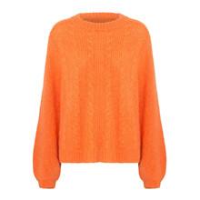 Resume Orange Jerry Sweater