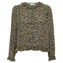Norr Camel/Blue Dots Lilo Top