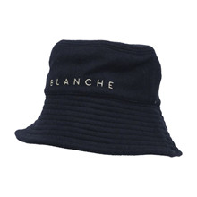 Blanche Navy Wool Bucket Hat