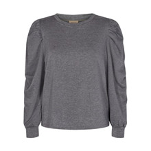 Freequent Grey Melange Off Pullover