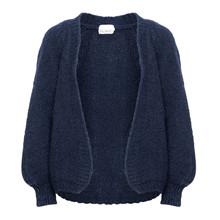 Noella Navy Fora Knit Cardigan