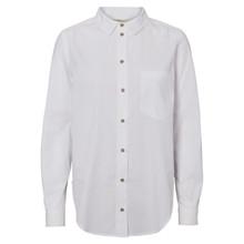 Basic Apparel Hvid Vilde Skjorte