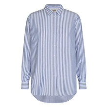 Mos Mosh Bel Air Blue Karli Stripe Shirt