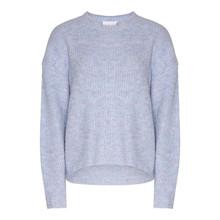 Noella Frenchie Knit Sweater Blue Melange