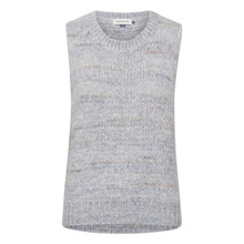 Denim Hunter Paily Knit Vest Light Blue Melange