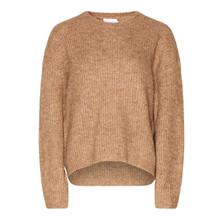 Noella Frenchie Knit Sweater Camel Melange