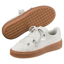 Puma Grå Platform Kiss Sneakers
