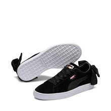 Puma Sort Suede Bow Sneakers