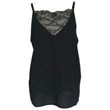 Black Colour Sort Lace Top