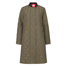Mads Nørgaard Army Ripstop Quilt Campy Coat