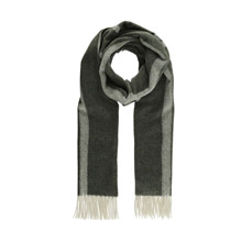 Blanche Cosy Logo Scarves Olive
