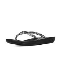 FitFlop Sort Leopard Iqushion Sandal