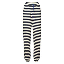 Lollys Laundry Navy/Off Mona Pants