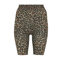 Sneaky Fox Natural Leopard Shorts
