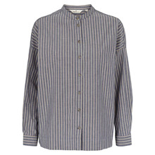 Basic Apparel Blå Tone Skjorte