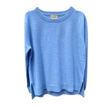 Rosas Blue Melange Cashmere Solid